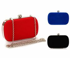 New Ladies Satin Clutch Handbag Women Evening Bag Bridal Wedding Party Women Bag