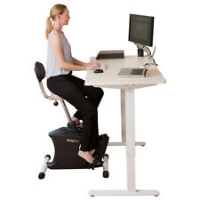 Exercise Bike - Stand Up Desk - Height Adjustable - Ergonomic - Spin Bike - Fit