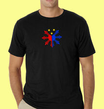 Philippines filipino pinoy t-shirt Create No2 Philippine Flag Front & Back RL