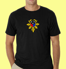 Philippines filipino pinoy t-shirt Heart Philippine Flag Front & Back RL