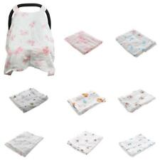 New Baby Stroller Pram Car Seat Cover Breathable Cotton Sun Shade Canopy