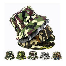 Boonie Hunting Hiking Summer Bucket Cap Fishing Hat Outdoor  Camo