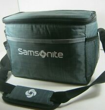"""Samsonite Insulated Lunch Box Cooler Bag 10""""x6.5""""x6"""" Black Multiple New NWT"""