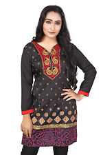 Indian Kurti Women Kurta Top Tunic Bollywood Ethnic Designer Dress ECO1