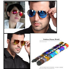 Unisex Women Men Vintage Retro Fashion Mirror Lens Sunglasses Glasses OU