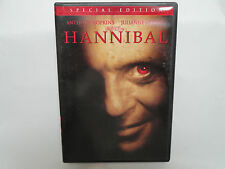 Hannibal 2-disc Special Edition (DVD, 2001) Anthony Hopkins, Julianne Moore