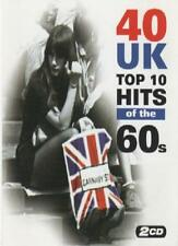 40 UK Top 10 Hits of the 1960's.