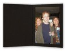 shopwise2000 Cardboard Photo Folder 4x6 - Pack of 100 Black