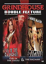 Grindhouse Double Feature: Horror - Evil in the Bayou/Bagman (DVD) BRAND NEW!