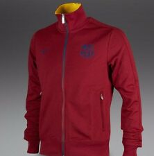 NIKE FC BARCELONA AUTHENTIC N98 TRACK JACKET Team Red/Midnight Navy/Yellow.