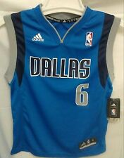 New! Youth NBA Dallas Mavericks Blue Jersey Chandler #6