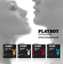 Playboy Condoms Honeymoon Set ( Match / Comfort / Feather lite / Max Dot ) Hot!!
