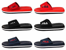New Puma Fila Men's Slip On Low Slipper Strap Slide Sandals