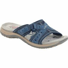 Earth Spirit US Shoes Size Women Leather Suede Sandal Flip Flops Slip on Casual