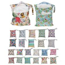 New Baby Nappy Waterproof Washable Wet Dry Cloth Zip Diaper Swimmer Bag