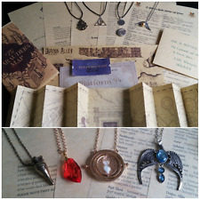 Personalised Harry Potter Hogwarts Acceptance Letter Necklace Ministry of Magic
