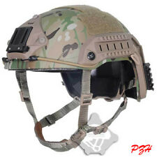 FMA Tactical Maritime Multicam Camo Protective ABS Helmet for airsoft paintball