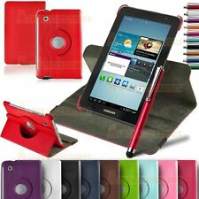 360° Rotatable Leather Stand Case Cover For Samsung Galaxy Tab 2 P3100 P3110 /7""
