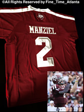 NEW VERY HARD 2 FIND Johnny Manziel Texas A&M Aggies Mens Home Throwback Jersey