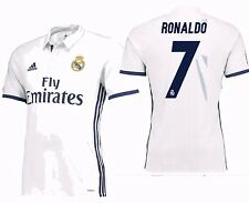 ADIDAS CRISTIANO RONALDO REAL MADRID AUTHENTIC ADIZERO HOME MATCH JERSEY 2016/17