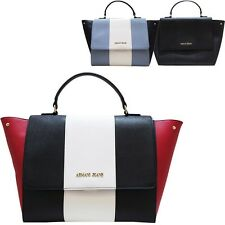Hand bag with strap Armani Jeans faux saffiano leather 922562
