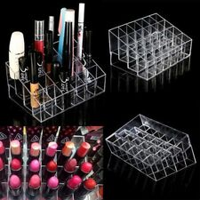Clear 24 Makeup Cosmetic Lipstick Storage Display Stand Rack Holder Organizer AR
