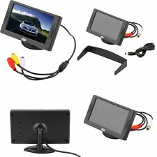 "4.3"" TFT LCD Car Monitor Reverse Rearview Color Camera DVD VCR CCTV AR"