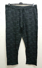 Plus size bequeme Men's Sweatshirt Jogger Casual trousers black g 68/70,72/74