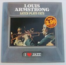 Louis Armstrong-Satch Plays Fats LP-CBS, CBS 21103, 1983, 9 Track