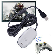 Microsoft Xbox 360 USB Wireless Receiver Game Controller Adapter for Windows sh