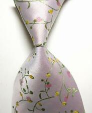 New 100% Silk Men's Tie Classic Floral JACQUARD WOVEN Necktie Mix Color V4