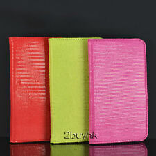 Book Style PU Leather Case For SamSung Galaxy Note i9220 n7000 Pink Red Green