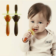 1PC Baby Soft Chewable Bendable Teether Training Toothbrush Brush For Infants