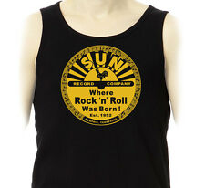 Débardeur SUN Records  Memphis 50's Rock'n'Roll Rockabilly Elvis Marcel Tank Top