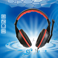 3.5mm Adjustable Gaming Headphones Stereo Noise-canceling Computer HeadsetRE