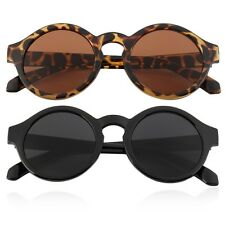 Unisex Vintage Retro Women Men Glasses Vintage Round Mirror Lens Sunglasses RE
