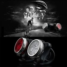 Bicycle Bike 3 LED 4 Modes Head Front Rear Tail Light Lamp USB Rechargeable~RE