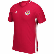 adidas New York Red Bulls NYRB MLS 2016 Soccer Training Jersey Red