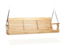 Amish Handcrafted Porch Swing West Chester Pressure Treated Kiln Dried Wood