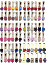 Buy 1 Get 8 Free Saffron London Nail Polish/Varnish - 72 Shades Available