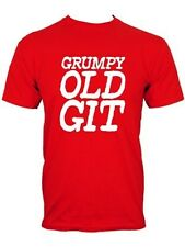New Grumpy Old Git Fathers Day Men's Red T-Shirt