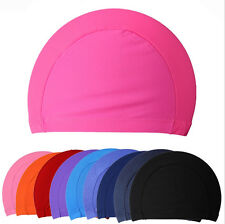 2015 New Children kids Unisex Nylon Swimming Cap Swimming Hat Elasticity  TO