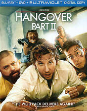 The Hangover Part II (Blu-ray/DVD, 2011, 2-Disc Set, Includes Digital Copy;...