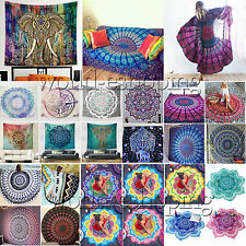 BOHEMIAN WALL DECOR HIPPIE TAPESTRIES MANDALA TAPESTRY WALL HANGING INDIAN THROW