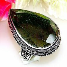 Strenght All sizes Worldwide Free Shipping  Gorgeous DICHROIC GLASS SILVER RING