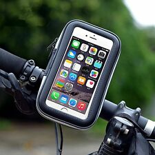 Waterproof Motorcycle Bike Bicycle Cell Phone Mobile Bag Handlebar Mount Holder