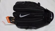 "NEW NIKE Diamond Elite Edge II Black 11"" Infield Baseball Glove Mitt Right Throw"