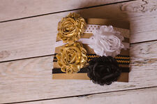 Shabby Chic Headband Set Of 4 Shabby Chic Flower Toddler Flower Headband Set