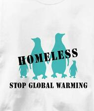 Stop Global Warming Homeless Penguins Peace T Shirt All Sizes & Colors