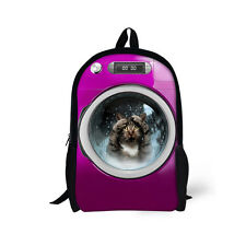 Children Backpack Dog Teenagers Girl's Boy's Shoulder Bag School BookBag Travel